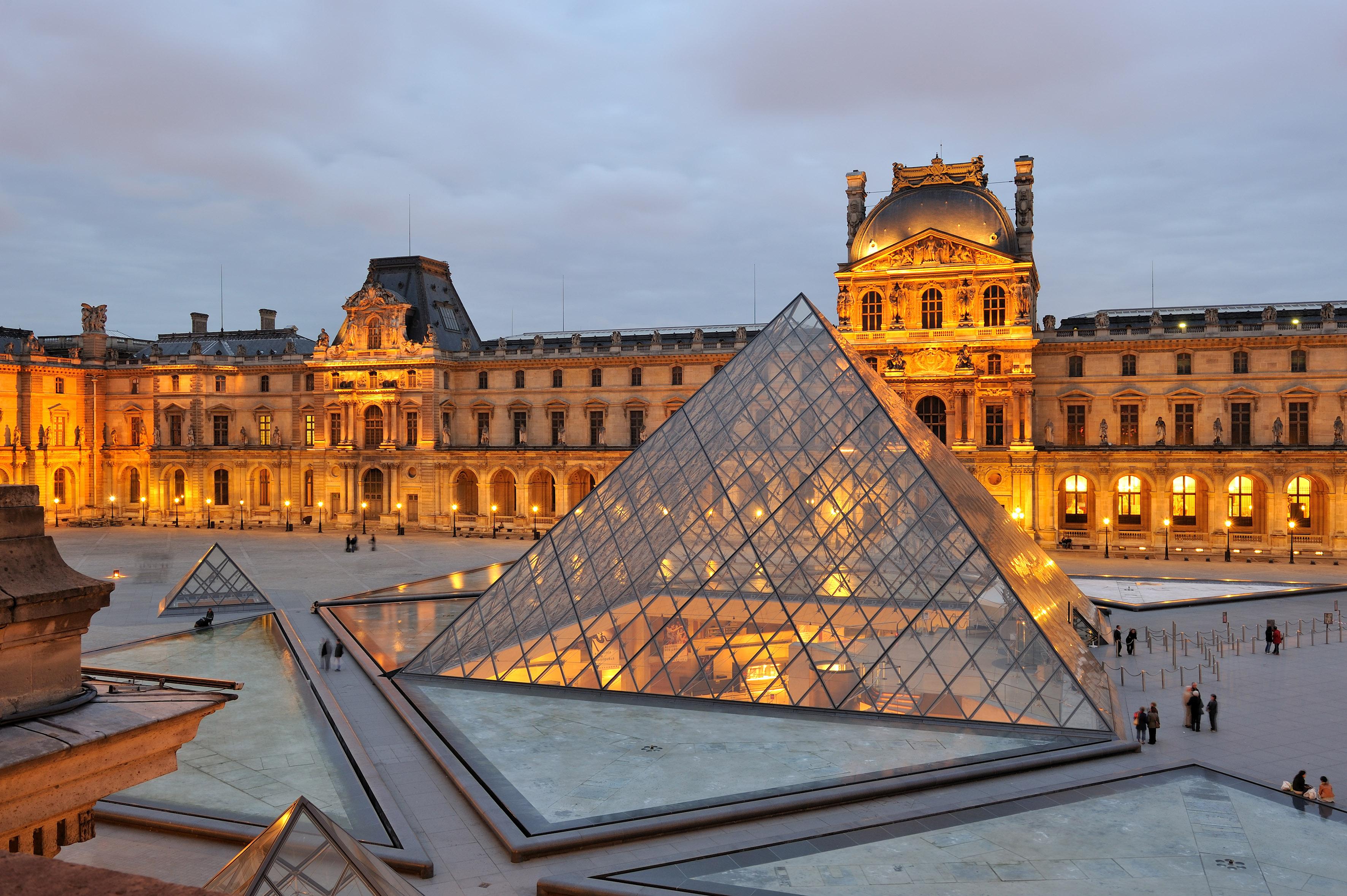 Лувр – основа історично-культурної частини Франції
