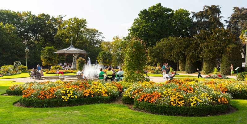 вечнозеленый парк Thabor